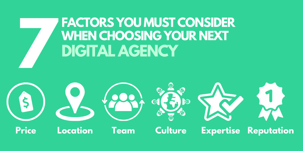 7 factors to consider when choosing your next SEO agency